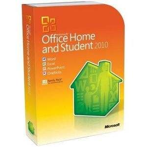 Ms Office 2010 Home & Student Upto 3 PC Software CD
