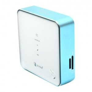 Irvine GSM 3G+LAN with Power Bank Multi Function Wifi Mifi Router