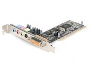 Enter PCI 4 Channel Sound Card