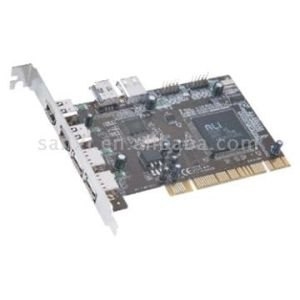 USB 2.0 Hi-Speed 5-Port PCI Card