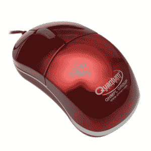 Quantum QHM295 Wired USB Optical Mouse