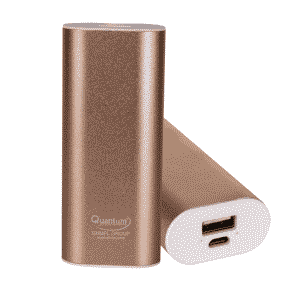 Quantum QHMPL Power Bank 4000 mAh Mobile Battery Pack