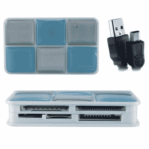 Quantum QHM5095 CF Multi Card Reader / Writer All In One Card Reader