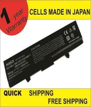 HAKO for Dell Studio 1535 Studio 1536 Studio 1537 Studio 1555 Studio 1557 Studio 1558 312-0701 A2990667 KM958 WU946 Battery