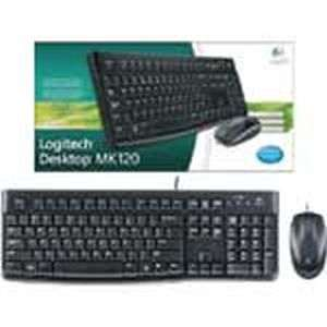 Mk120 Usb Keyboard | Logitech MK 120 Combo Price@Logitech Usb Mouse Combo Market Shop - HelpingIndia