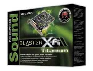 Creative Labs PCI Express Sound Blaster X-Fi Titanium Sound Card