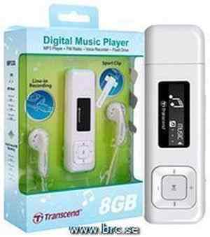 Transcend MP330 Digital MP3 Music Player