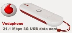 Vodafone 3G USB Data Card Internet 1GB Free 1 Month Unlimited Prepaid Plans