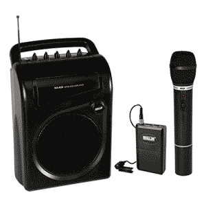 AHUJA WA620 WITH 1 CORDLESS MIC, INBUILT RECHARGEABLE BATTERIES PORTABLE SPEAKER CUM AMPLIFIER