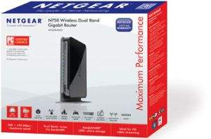 Netgear WNDR4000 N750 Dual Band Gigabit Wireless Router