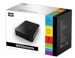 Western Digital Elements 1TB 3.5 USB External Hard Disk Drive HDD