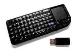 Wireless Mini Keyboard with Touchpad + Laser Point 2.4G