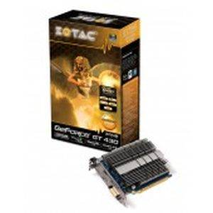 ZOTAC GeForce GT 430 2GB 128-bit GDDR3 Graphics Card