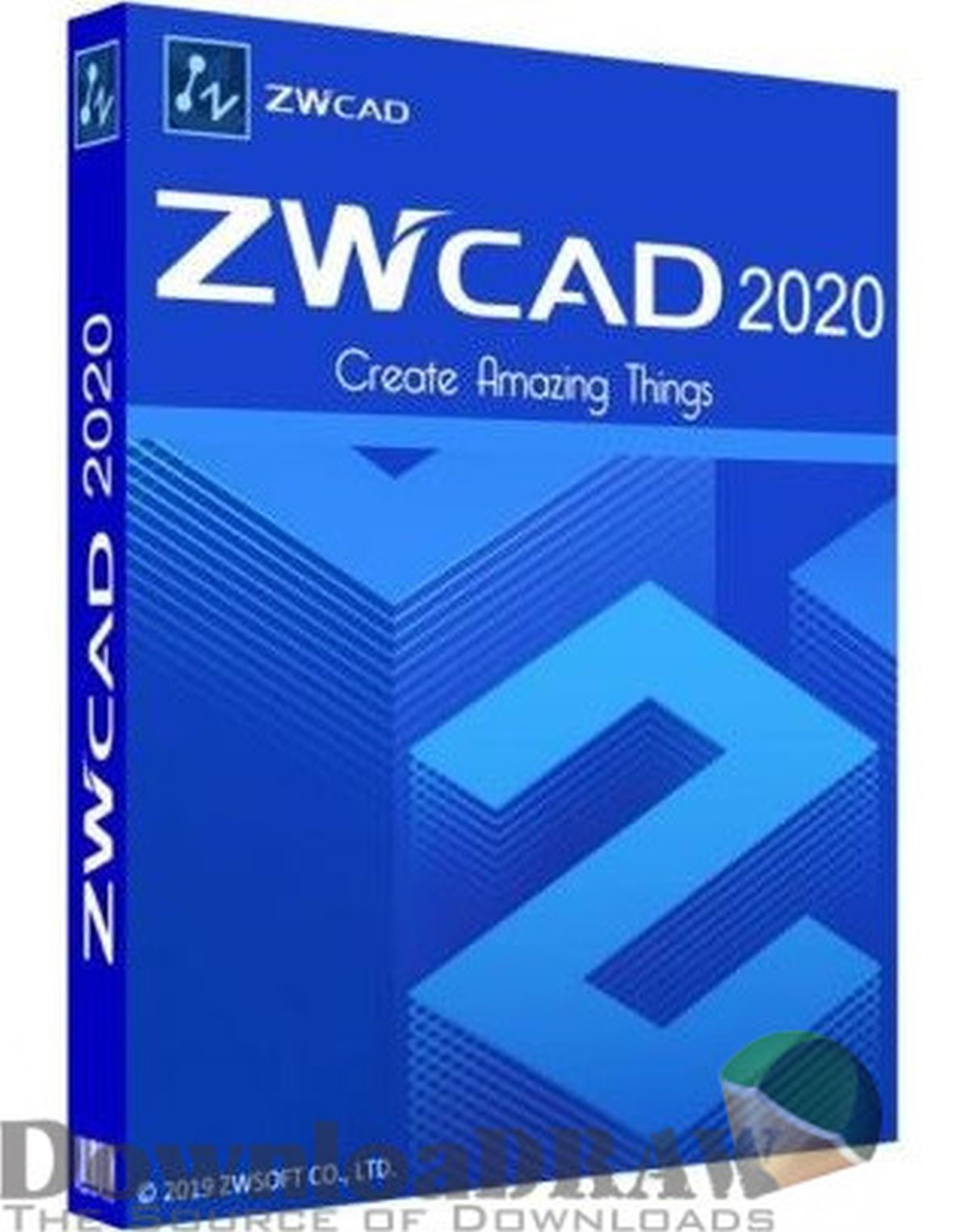 ZWCAD 2020 Standard 2D Software ESD Call for Best Price