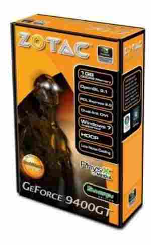 ZOTAC Nvidia GeForce 9400GT 1GB PCI-E Graphic/Game Card HDMI