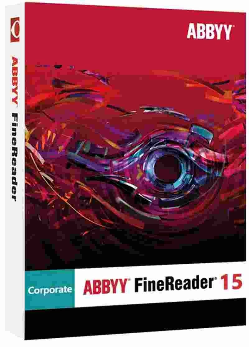 Abbyy Finereader Standard 15 ESD Desktop Software