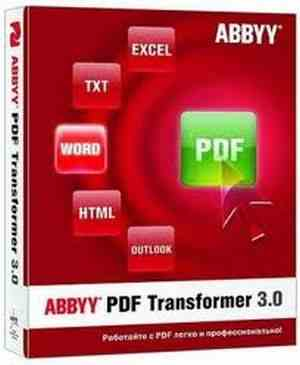Abbyy PDF Transformer Pro 3+ ESD (PDF to Word / Excel to PDF)