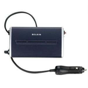 Belkin AC Power Inverter 200W Car Charger for Laptop and USB