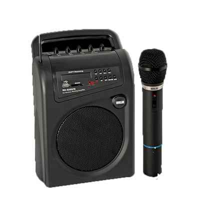 AHUJA WA-625DPR WITH 1 CORDLESS MIC, INBUILT RECHARGEABLE BATTERIES WITH USB PORTABLE SPEAKER CUM AMPLIFIER