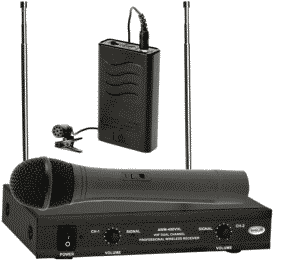 Ahuja AWM-490VHL Professional VHF Wireless PA Microphones