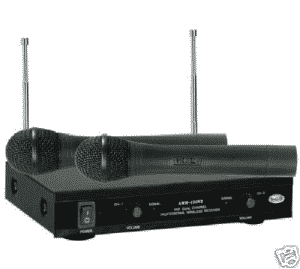 Ahuja AWM-490V2 Professional VHF Wireless PA Microphones