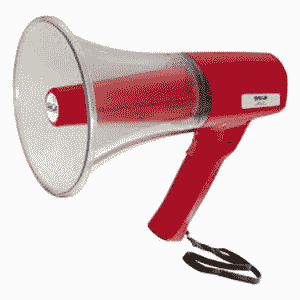 Ahuja CLH 33 Indoor, Outdoor Portable PA Megaphone