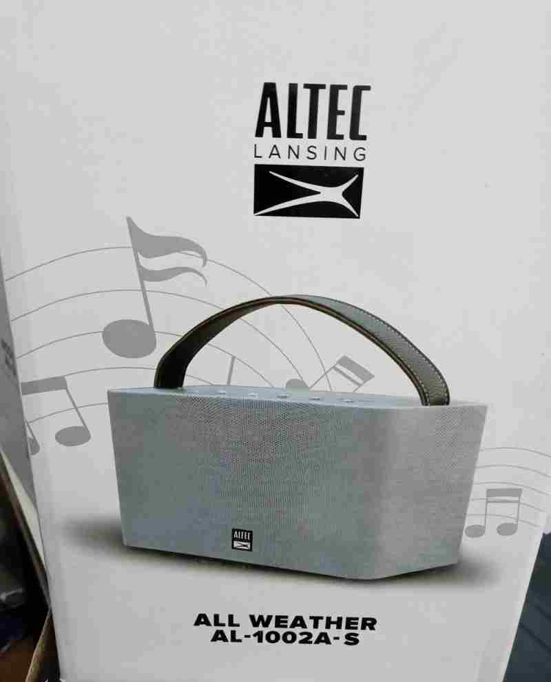 Altec Lansing AL-1002A S Portable Bluetooth Speaker