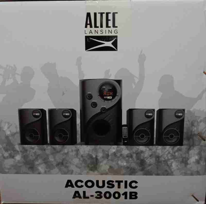 Altec Lansing Acoustic Al-3001B 4.1 MultiMedia Speaker