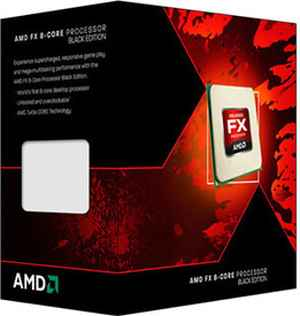 AMD FX-8350 8 Core AM3 Bulldozer Processor CPU