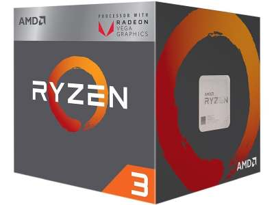 AMD Ryzen 3 2200G with Radeon Vega 8 Graphics Processor CPU