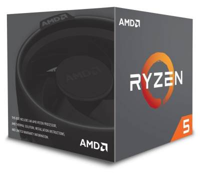 AMD Ryzen 5 2600X with Wraith Spire Cooler Processor CPU