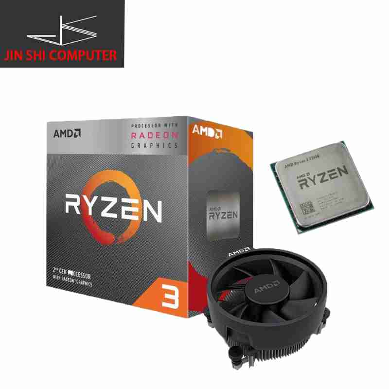 AMD Ryzen 3200G 3 with Radeon™ Vega 8 Graphics APU Desktop Processor