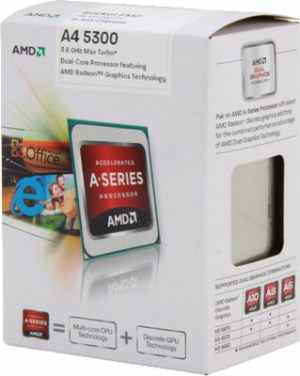 AMD A4-5300 Trinity Dual-Core Processor CPU