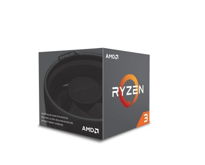 AMD Ryzen 3 1200 with Wraith Stealth Cooler Desktop Processor CPU