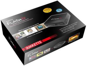 Amkette Flash TV 720P Multimedia Player