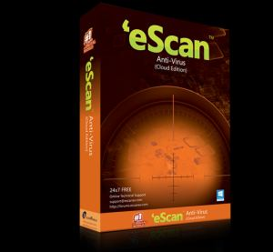 eScan AntiVirus (AV) Edition Software CD