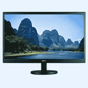 AOC 18.5 E970Sw inch LED Monitor