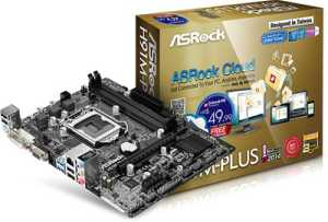 ASRock H91M-PLUS LGA 1150 4th Gen Motherboard