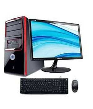 Assembled Desktop PC for Home & Office with 18.5 Screen Computer