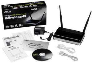 Asus DSL-N12U N300 wifi Wireless ADSL Modem