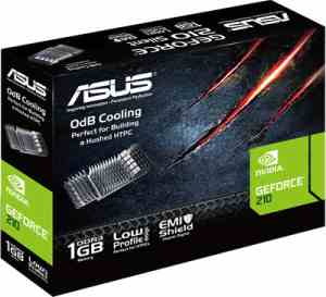 Asus NVIDIA GeForce EN210 Silent 1 GB DDR3 Graphics Card