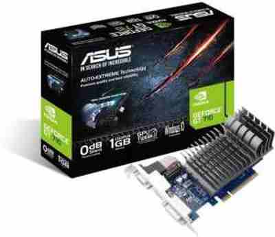Asus GT 710 1GB DDR3 64-Bit NVIDIA GeForce Gaming/Graphics Card