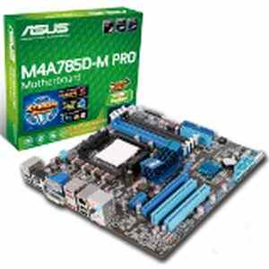 ASUS M4A785D-M-PRO- AMD785G - DDR2 Motherboard For AMD