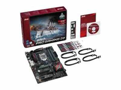ASUS B150 PRO GAMING D3 ATX DDR3 Intel Motherboard