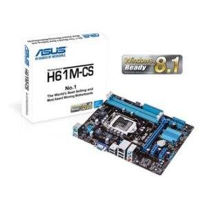 Asus H61M-CS LGA1150 Socket MotherBoard