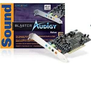Creative Labs SoundBlaster Live 7.1 Sound Card