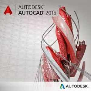 AutoCad 2015 3D Commercial Software CD