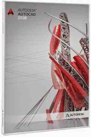 AutoCad 2016 3D Commercial Software CD