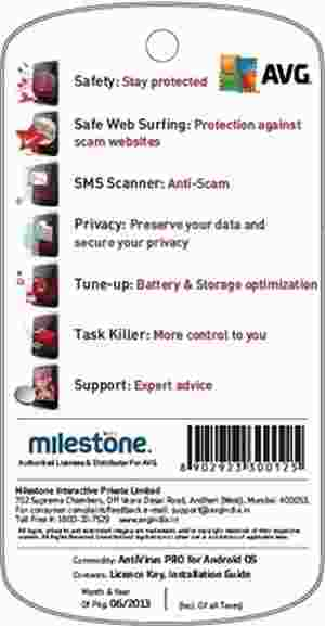 AVG Mobilation Anti Virus Pro for Android