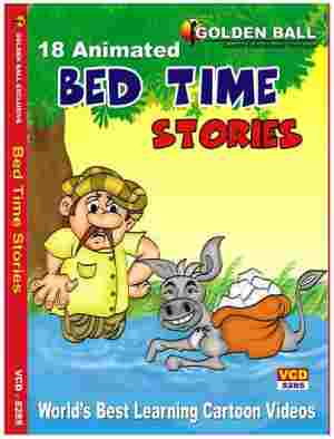 Golden Ball Animated English VCD Bed Times Stories